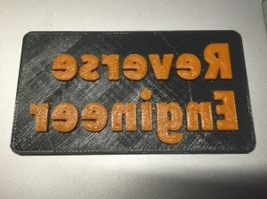 Reverse Engineer Sign (Up Close)