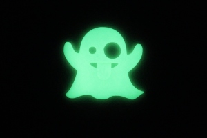 Emoji Ghost in glow in the dark PLA