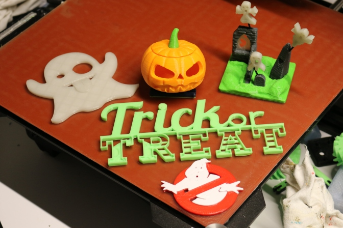 Fun Halloween 3D Prints