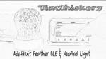 TinWhiskerz Adafruit Feather BLE + NeoPixel Light