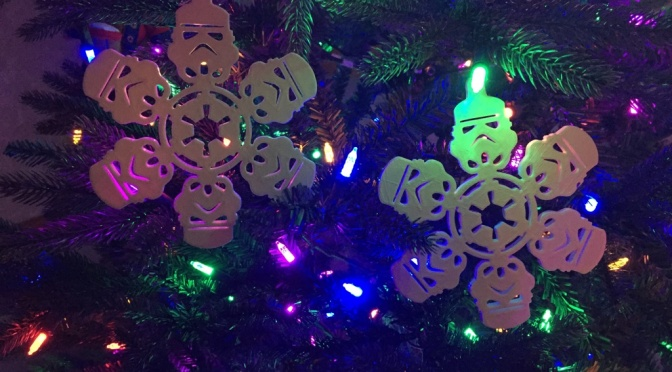 Forrest moon of Endor or my Christmas tree these ornaments are right at home