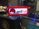 Redhat Logo Sign in white