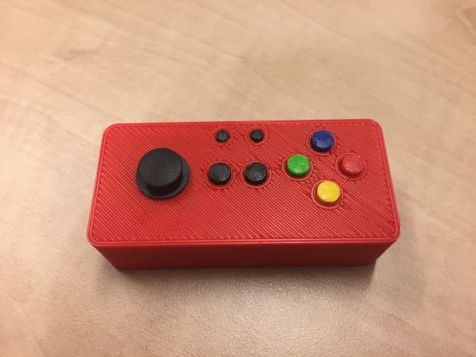 Pi Zero W + Joy Bonnet Case