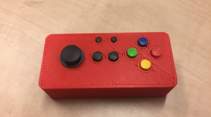 Custom 3D Printed Case for Pi Zero W + Adafruit Joy Bonnet