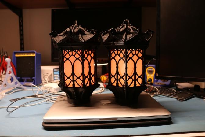 Scary Smart Gothic Lantern